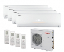 Tosot 4 х T09H-SLEuM/I / T36H-FM4/O